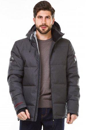 Куртка синтепон. Pogo PG9982 Серый - фото 2
