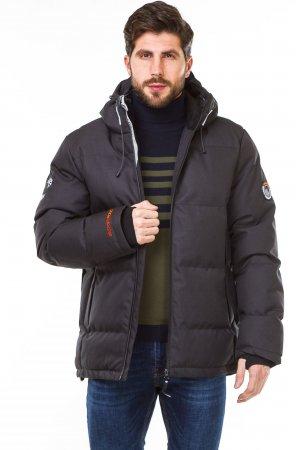Куртка синтепон. Pogo PG9982 Тёмно серый - фото 2