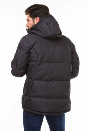 Куртка синтепон. Pogo PG9982 Тёмно серый - фото 1