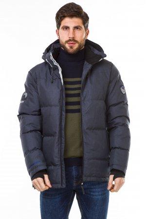 Куртка синтепон. Pogo PG9982 Т.Зеленый - фото 2