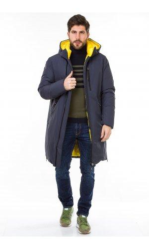 Куртка Vivacana 20AW873 (Серо-желтый)