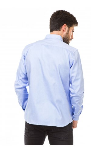 Рубашка длинный рукав Climber 820 1053 C516 Y000 MB0451 (Голубой)