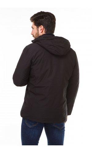 Куртка синтепон Luobaidafushi 8805 (Черный)