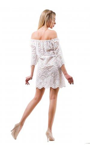 Платье Billi Fashion/More  P880-1 (Белый)