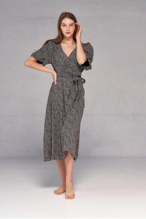 Платье короткий рукав Kiwi 5061-1 Черный - фото 2