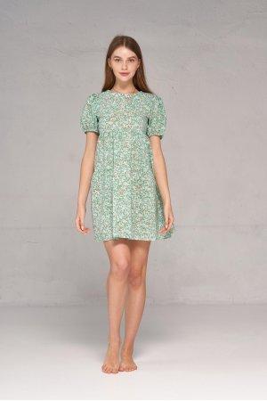 Платье короткий рукав Kiwi 5065 Ментоловый - фото 2