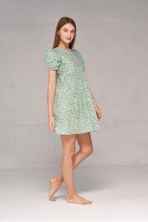 Платье короткий рукав Kiwi 5065 Ментоловый - фото 1