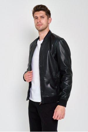 Куртка Кожзам Puduoli 7835 (Черный) - фото 1