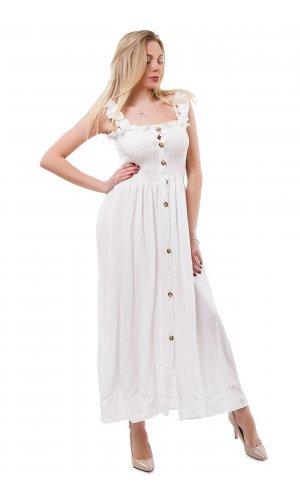Сарафан Lara La2066 (Белый)
