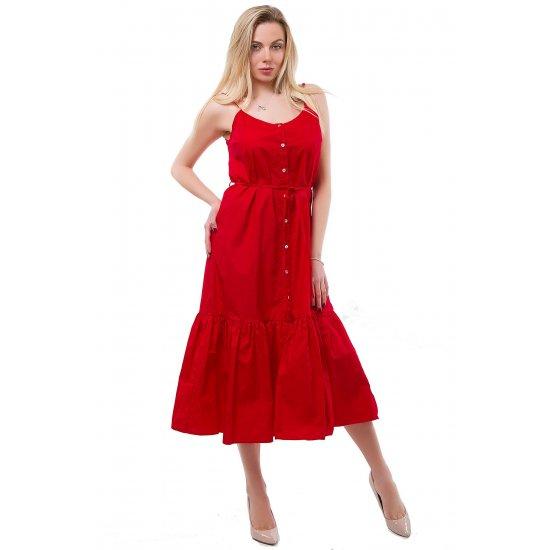 Сарафан Lara La2087 (Красный)