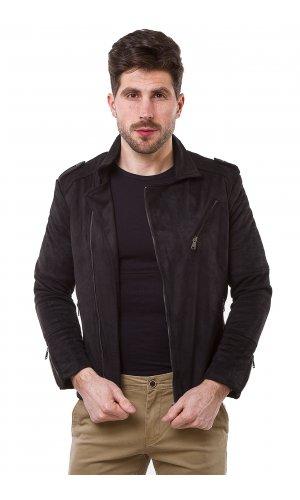 Куртка замшевая GRC-Man 2560 (Черный)