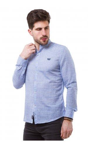 Рубашка X-Ray L220 (Голубой)