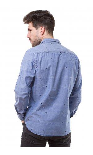 Рубашка Jlab+Remix LA06 (Синий)