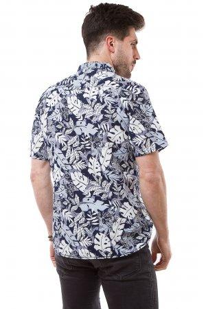 Рубашка Дл/рукав. Jlab+Remix SC01 Синий