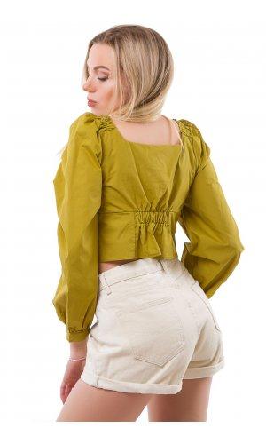 Блуза Molorda 603042 (Салатовый)
