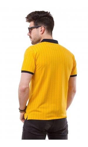 Поло Alexbenson 88021 (Желтый)
