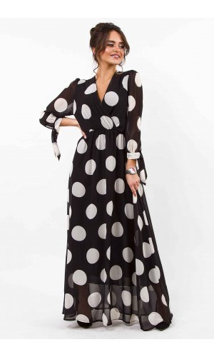Платье  Lumina L1152 (Черный)