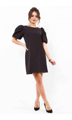 Платье + пояс  ANY DR852  (Черный)