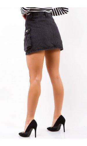 Юбка-шорты SSLG 10377 (Черный)
