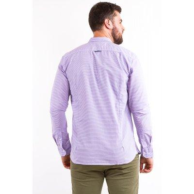 Рубашка Дл/рукав Jlab+Remix 007-3 (Сиреневый)