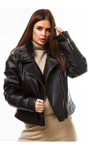 Куртка кожзам Jlab+Remix 007 (Черный)
