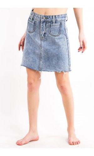 Юбка джинсовая Cool 5630-1 (Голубой)