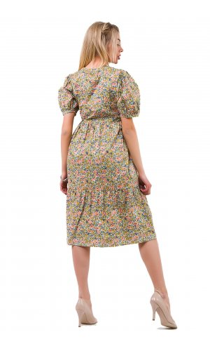 Платье Molorda 601009 (Зеленый)