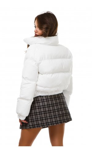 Куртка 6018-1(Белый)