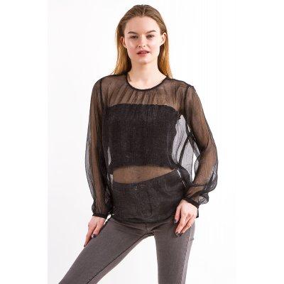 Блуза + топ Molorda 615002  (Черный)