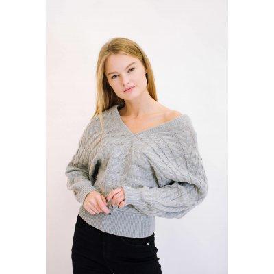 Пуловер Remix W 7791 (Серый)