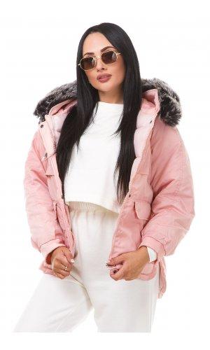 Куртка Cheng Fi Fang 813/871 (Розовый )