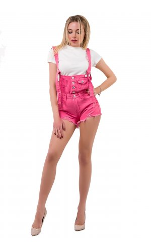Комбинезон-шорты SSLG 8170 (Розовый)