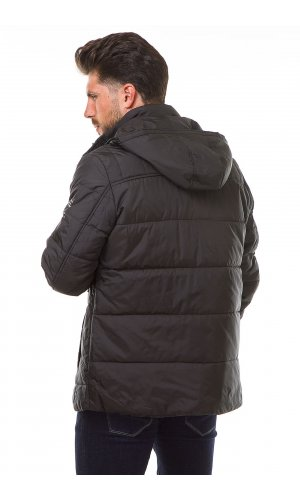 Куртка синтепон Hansez HM-8226 (Черный )