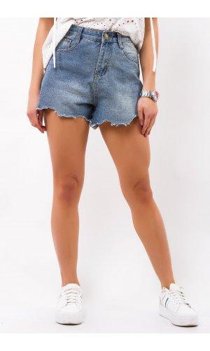 Шорты джинсовые American Ange 9025 (Синий)