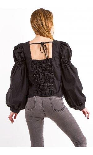 Блуза Mimosa Beauty 9207  (Черный)