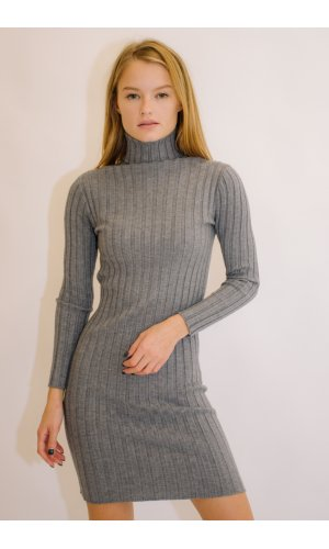 Платье Дл/рук Remix W 930 (Серый)