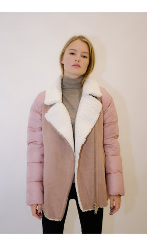 Куртка Evacana EW-9257M (Розовый)