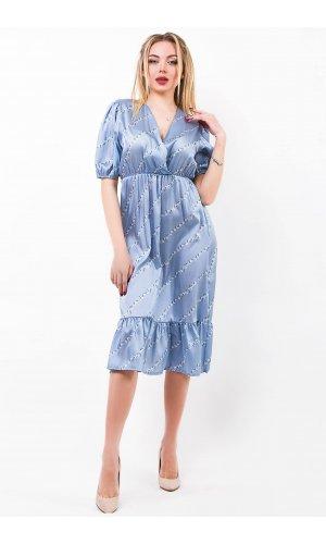 Платье Lumina L1252 (Голубой)