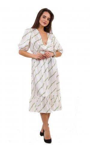Платье Lumina L1252 (Белый)
