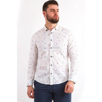 Рубашка Дл/рукав X-Ray L157B  (Белый)