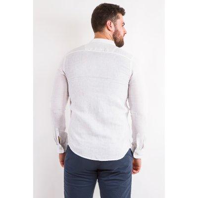 Рубашка лен Дл/рукав X-Ray L209  (Белый)