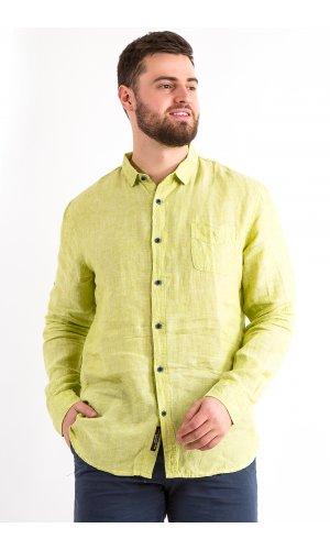 Рубашка Дл/рукав Jlab+Remix LA03 (Салатовый)