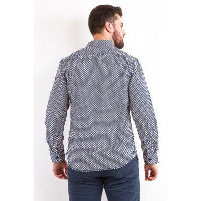 Рубашка Дл/рукав  Jlab+Remix LA07 (Синий)