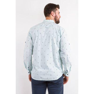 Рубашка Дл/рукав Jlab+Remix LA08 (Бирюзовый)