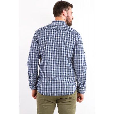 Рубашка Дл/рукав Jlab+Remix LA09 (Синий)