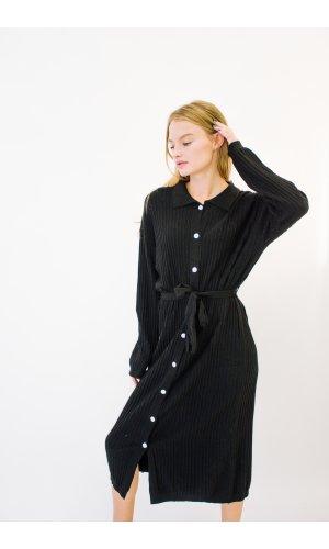 Платье + пояс Bless M020 (Черный)
