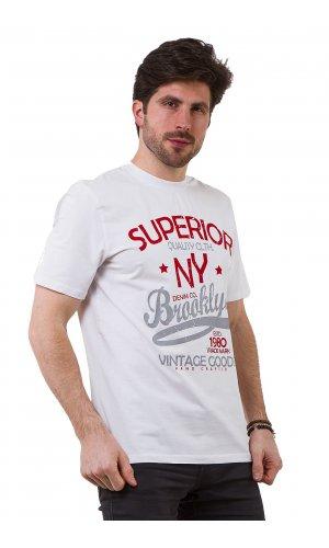 Футболка Madoc PNY060025324037 Белый