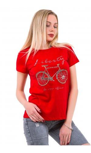 Футболка Lara VJ71157 Красный