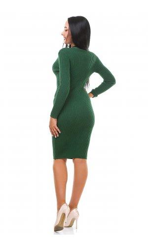 Платье Дл/рук Remix W D081 (Зеленый )